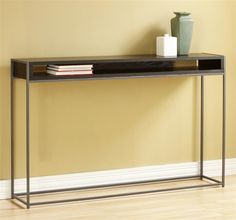Wabash Storage Console Table in Java