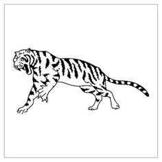 TATTOOS: Tiger And Lion Tattoo Stencils