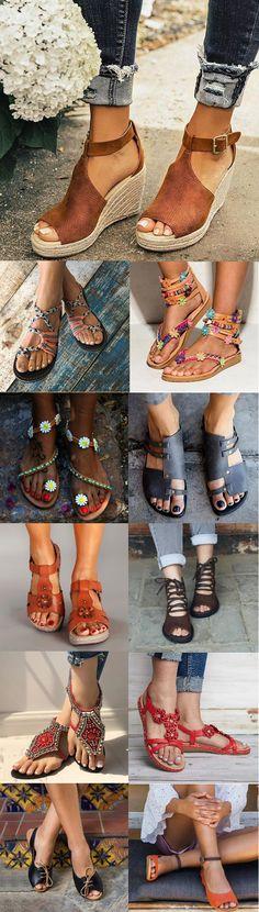 109 mejores imágenes de zapatillas de verano en 2020