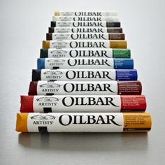 The Winsor & Newton Artists' Oilbar 12 x 50ml Colour Set is an advanced introduction to a radical take on the most traditional of art vehicles, created by a colour-maker with 180 years of expertise. It's oil paint in stick form that you handle like a pastel, allowing you direct expression in oils without even a brush between you and the surface. Made with high levels of pigment blended with wax, they have a creamy texture, dry faster than oils and take mediums.