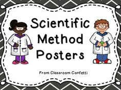 There are five posters included in this freebie! Ask a Question, Create  a Hypothesis, Conduct an Experiment, Record Observations, and Make a Conclusion. These are a great visual aid during science time in your classroom!Check out my matching Science Notebook!My Science NotebookClassroom Confetti