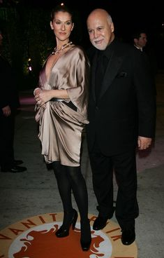 Celine Dion and Rene Angelil. <3 <3 <3