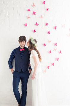 Prenez votre envole dans cette robe de mariée longue, fluide et légère !