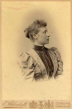 Princess Victoria of Hesse and by Rhine, later Marchioness of Milford Haven