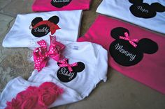 Disney World Shirts for the Family - Mickey & Minnie. $20.00