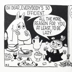 Moomin comic strips by Tove Jansson Les Moomins, Moomin Valley, Tove Jansson, Oui Oui, Grafik Design, Art Google, Comic Strips, Artsy, Fancy