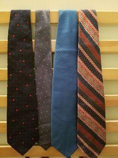 Vintage Silk Men's Tie Lot (4) #Tie #NeckTie #Business