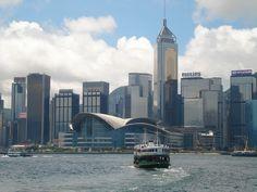 Star Ferry Victoria Harbour, Hong Kong 2012