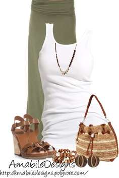 """Summer Time"" by amabiledesigns on Polyvore #maxi"