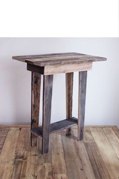 1000 ideas about tall end tables on pinterest end for Tall rustic nightstands