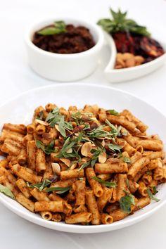 Roasted Tomato Pesto (Gluten-Free   Vegan)