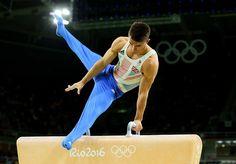 Men's Olympic Pommel Horse Champion