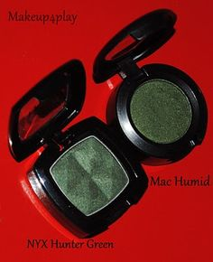 NYX dupe for Mac Humid Eyeshadow. Makeup dupes