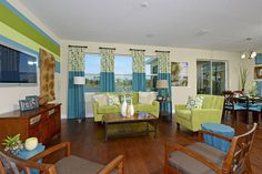 The Ryland Group. Mira Mar floor plan. 4 bedrooms, 3 bath. #POH2014 #OrlandoHomes #Orlando