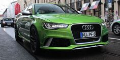 Audi Exclusive Java Green RS 6 Avant Spotted - Fourtitude.com
