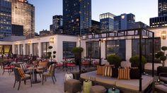 Midtown Manhattan | Salon De Ning | The Peninsula New York, Salon de Ning ROOFTOP BAR AND TERRACE A chic rooftop bar and terrace offering panoramic views over 5th Avenue and the glittering skyline of Manhattan.