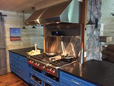 Check out this custom blue kitchen by www.ClickCabinets.com  Free Shipping Free Design Free Samples Buy Kitchen, Kitchen And Bath, Bath Cabinets, Kitchen Cabinets, Quality Kitchens, Free Samples, Free Design, Free Shipping