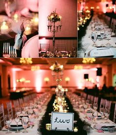 Blush black and gold. This would be gorgeous for a wedding too.