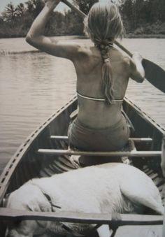 I love canoeing! #OrvisWomen