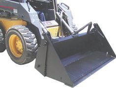 Buckets - Material Handling Equipment Product Information - 4 In 1 Skid Steer Buckets Warehouse Equipment, Excavator Buckets, Skid Steer Attachments, Skid Steer Loader, 4 In 1, Product Information, Heavy Equipment, Tractors, Teeth
