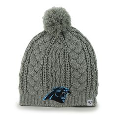 Amazon.com   NFL Carolina Panthers Women s Kiowa Beanie Knit Hat 835377661