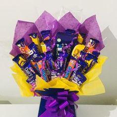 Chocolate Bouquet Cadburys Mix Sweet Gift Hamper | Etsy Bouquet Box, Diy Bouquet, Candy Bouquet, Happy Birthday Girls, My Best Friend's Birthday, Chocolate Hampers, Chocolate Gifts, Greeting Card Holder, Chocolate Flowers Bouquet