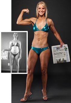 Bodybuilding.com - Body Transformation: Rachel Flint Wins 2012 Hyper Shred Challenge!