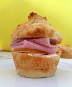 Prato Pra Um - Receita de pão de minuto assado na forma de cupcake