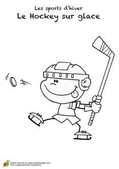 17 meilleures images du tableau coloriage hockey printable coloring pages coloring pages et - Dessin hockey sur glace ...