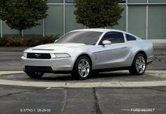 OG | 2009 Ford Mustang Mk5 | Full-size clay model dated Sep. 2005