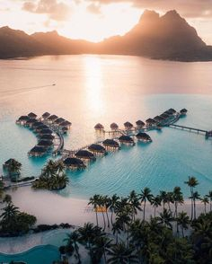 Bora Bora - Travel Inspiration - HoMe Vacation Places, Dream Vacations, Vacation Spots, Vacation Ideas, Photos Voyages, Beautiful Places To Travel, Romantic Travel, Wonderful Places, Travel Aesthetic