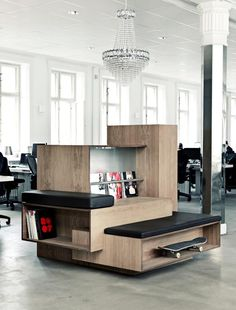 View the full picture gallery of Generator Hall Office Hall Interior, Modern Interior Design, Luxury Interior, Interior Architecture, Interior Office, Retail Interior, Module Design, Office Pictures, Contemporary Office