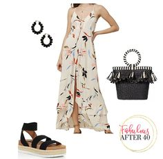 Whether you're off to the beach on vacation or entertaining at home by the pool, a beach maxi dress is a great look.  Here's how to style a beach maxi to give it a fresh, summer vibe.  #womensfashion #summerstyle #summerdress #maxidress #outfitideas Boho Look, Look Chic, Summer Outfits, Casual Outfits, Summer Dresses, Beachy Maxi Dress, Over 50 Womens Fashion, Summer Fashion Trends, Everyday Dresses