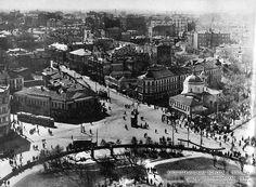 Кропоткинские ворота в 1930-х
