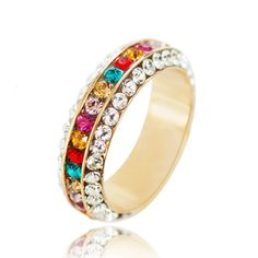 Colorful color rings