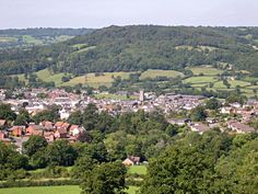 A lovely view of  local town Honiton. On the Southern edge of the  Blackdown Hills in East Devon.