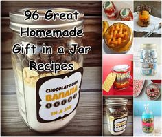 96 Great Homemade Gift In A Jar Recipes