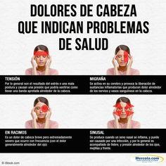 Dolores de cabeza que indican problemas de salud.