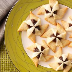 Finnish Pinwheels Recipe -When my sister was hosting an exchange student from Finland, she served these cookies I'd made to her guest. The young lady instantly recognized what they were. So I know they're still being made in our ancestors' country! —Ilona Barron, Ontonagon, Michigan