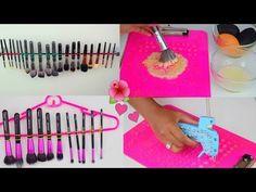 LImpiar y Secar Brochas de Maquillaje Hazlo Tu Misma   fashionbycarol - YouTube