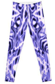 Electric Zebra leggings  #electricblue #fashion #newstyle #leggings #gymstyle #animals #safari #wildlife #zoo #electric #neon #zebra #blue #glowing #images