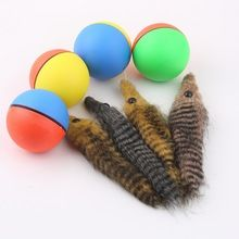 2016 Popular New Dog Cat Weasel Motorized Funny Rolling Ball Pet Kids Chaser Jumping Fun Moving Toy Drop Shipping //Price: $US $3.36 & FREE Shipping //     #dogtreats