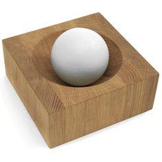 Sagaform Project Edge Small Oak and Stoneware Ball Mortar and Pestle Kitchen Tools, Kitchen Gadgets, Kitchen Stuff, Kitchen Decor, Cooking Utensils, Kitchen Utensils, Mortar And Pestle, Natural Life, Cool Kitchens