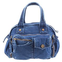 Mochila Jeans, Artisanats Denim, Denim Tote Bags, Jean Crafts, Diy Purse, Bag Patterns To Sew, Reusable Bags, Balenciaga City Bag, Backpack Bags