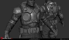 Gears of War 4 Art Dump