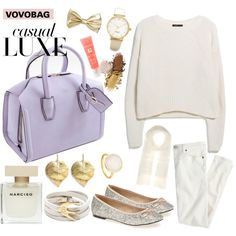 """""""VOVOBAG: Casual LUXE"""" by vovobag on Polyvore"""