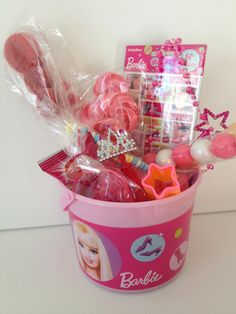 Candy Bucket, gift basket, birthday favor
