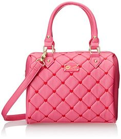 LUV BETSEY by Betsey Johnson Touch My Heart Mini Satchel Handbag, Pink, One Size