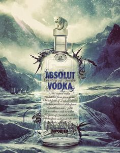 A World Icon: Absolut Vodka Advertisements and Designs repinned by www.BlickeDeeler.de