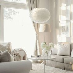 Living room inspiration   Vita Eos lamp shade available at www.istome.co.uk